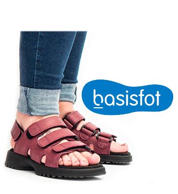 Basisfot sandaler Norge Moss Wenche Holløkken